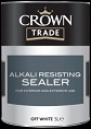 crown trade alkali resisting sealer off white