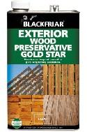 Blackfriar Exterior Wood Preservative Gold Star
