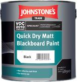 Johnstone's Quick Dry Matt Blackboard Paint
