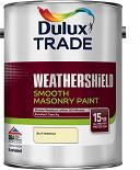 Dulux Trade Weathershield Smooth Masonry Colours