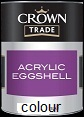 crown trade acrylic eggshell Colours