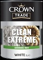 Crown Trade Clean Extreme Scrubbable Matt white