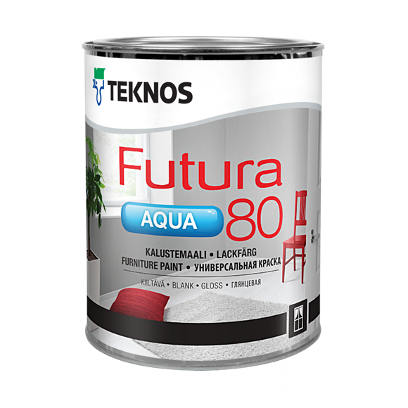 Teknos Aqua 80 Gloss furniture paint