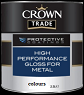 crown trade H/P gloss for metal colour