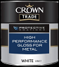 crown trade H/P gloss for metal white