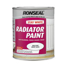 Ronseal Stay White Radiator Paint